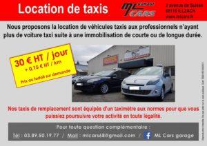 Location de Taxi ML CARS MULHOUSE