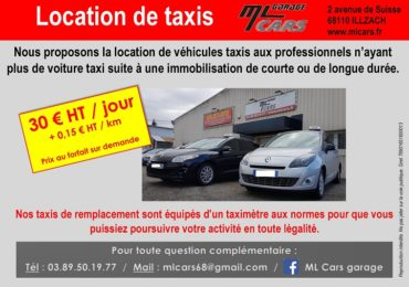 Location de taxis