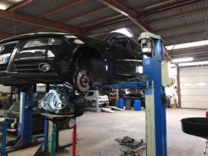 Remplacement double embrayage Audi A4 3,0 TDI boîte dsg7 s-tronic ob5 !