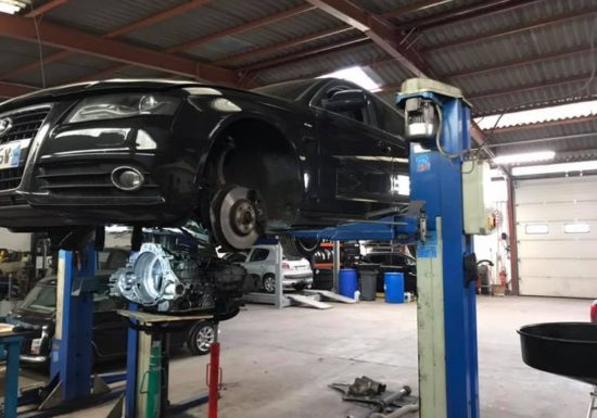Remplacement double embrayage Audi A4 3,0 TDI boîte dsg7 s-tronic ob5 !