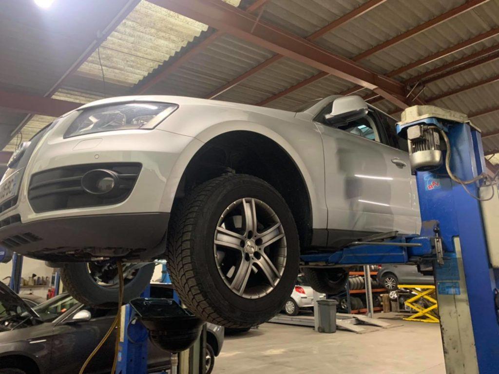 Entretien Boîte Automatique Audi Q5 2.0tdi , boîte ob5 dsg7 , avec remplacement filtre crépine et remise à zéro des adaptatifs