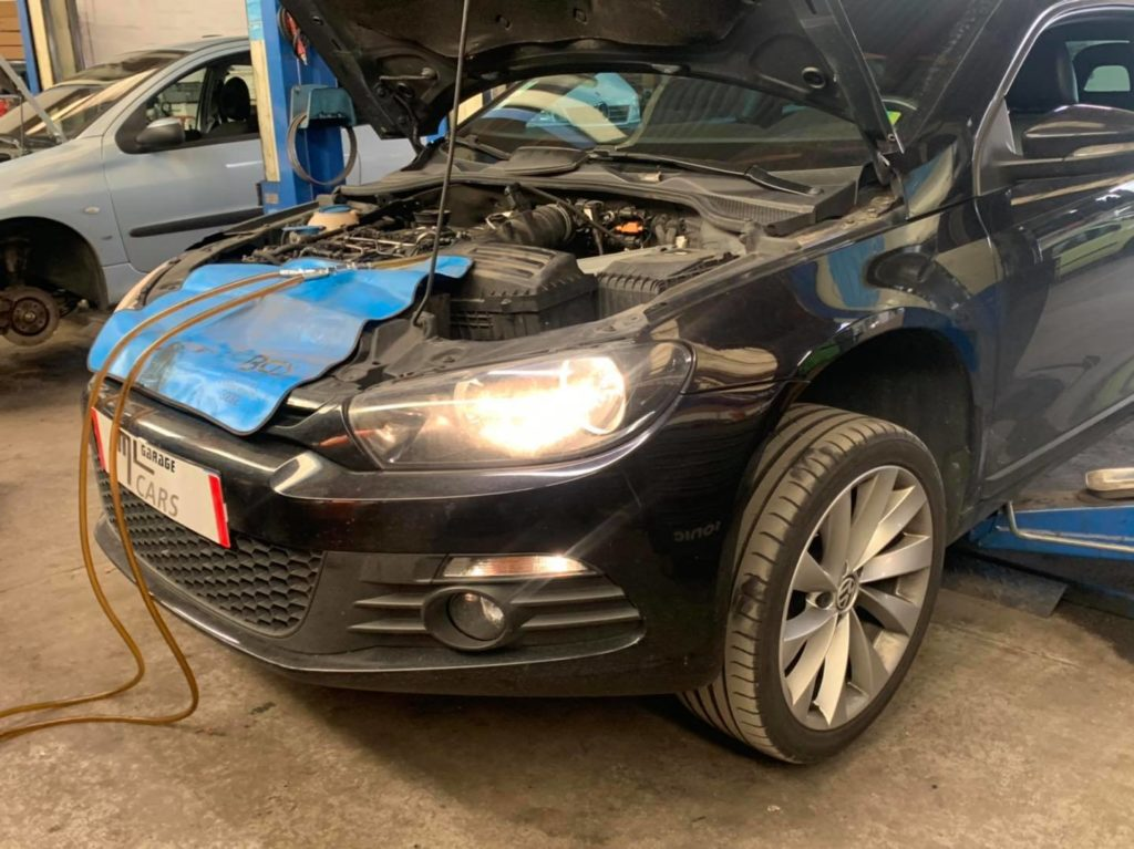 Entretien Boîte Dsg 6 , Volkswagen Scirocco 2,0tdi 170ch .