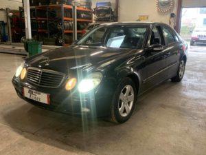 Entretien Boîte Automatique Mercedes E350 , boîte 722.9 , 7gtronic, avec remplacement filtre crépine , remise à zéro des adaptatifs